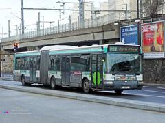 Renault Agora L - RATP 4521 (Pi Eye) Tags: paris bus renault autobus iledefrance agora ratp rvi irisbus stif gelenk agoral articul