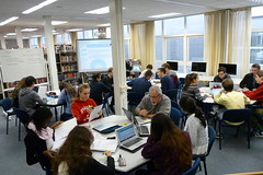 EE Workshop I Block E (Kim TD) Tags: library research ib extendedessay libraryclassroom ibdp americanschoolofthehague