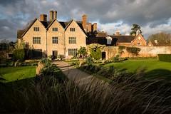 National Trust's Packwood House (Eva Swap) Tags: sky sun house clouds garden fuji nd nationaltrust warwickshire midlands x100t