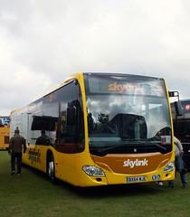 Skylink BX64WJE (Waterford_Man) Tags: duxford skylink iwm showbus bx62lje