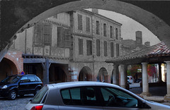 The Arches in Auvillar ... Now and then ... (David B. - just passed the 7 million views. Thanks) Tags: street plaza new old blackandwhite white black france color colour cars car river square town hall ancient downtown place postcard riviere 19thcentury 21st bank rivière berge pont grains then arcades now riverbank 20thcentury rue tarn halle recent mairie 19th 1905 1900s nowadays a77 2000s 21stcentury vallée tarnetgaronne midipyrénées 1650 auvillar 2013 centertown halleauxgrains 2010s a77v sonyalpha77 sony165028ssm sonydslta77v