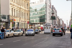 Checkpoint Charlie Now_7795 (hkoons) Tags: city berlin buildings germany army war europe crossing russia military capital border cities police german berlinwall spy conflict drama mitte eastberlin coldwar checkpointcharlie bordercrossing westberlin soviets northerneuropeanplain