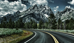 Road Trip to the Tetons (Jeff Clow) Tags: road travel vacation holiday landscape bravo getaway roadtrip grandtetonnationalpark jacksonholewyoming jeffclowphototours
