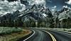 Road Trip to the Tetons (Jeff Clow) Tags: road travel vacation holiday landscape bravo getaway roadtrip grandtetonnationalpark jacksonholewyoming jeffclowphototours