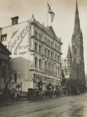 Georges, Collins Street, Melbourne, [Vic.] (State Library Victoria Collections) Tags: 1920s signs sign australia melbourne victoria signage vic 1910s collinsstreet 1913 statelibraryofvictoria statelibraryvictoria buildingsigns