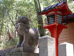 DSCN2604 guardian lion, Kasuga-taisha, Nara, Japan (johnjennings995) Tags: japan nara kasugataisha kasugagrandshrine guardianlion