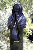 Trail of Prayers (withUibelong) Tags: arizona woman statue hands prayer pray sedona az shawl withuibelong dennyhaskew trailofprayers