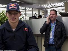 2014 Belgian GP: Jos & Max Verstappen (8w6thgear) Tags: portrait f1 grandprix formula1 spa gp paddock 2014 spafrancorchamps racingdriver josverstappen belgiangp scuderiatororosso belgiangrandprix maxverstappen redbullenergystation