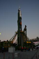 2014-11-21_04-59-52_2014-11-21_04-59-51_DSC_0230 (kilhor) Tags: expedition erection launch samantha 42 futura 43 soyuz baikonur rollout cristoforetti tma15m sojuzfg
