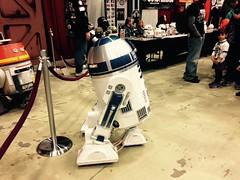 R2-D2 Grand Rapids Comic Con 11-22-14 (stevendepolo) Tags: comics grand rapids r2d2 nerdprom grandrapidscomiccon deltaplx