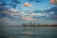 Kuwait City Skyline, Kuwait (CamelKW) Tags: skyline kuwait cityline bluemoment kuwaitcityskyline