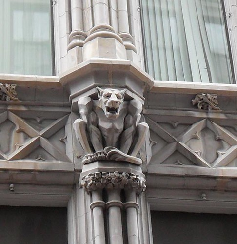Gargoyle on the Gilchrist Store Building, Downtown Crossing