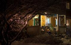 The burbs (Rob Hurson) Tags: christmas snow cold ice architecture suomi finland lights helsinki pentax sigma30mmf14 k30 pentaxk30