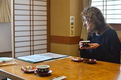 Tea Ceremony I (malinowy) Tags: winter portrait japan 35mm nikon tea ceremony nippon nikkor tee zima narita herbata sylwia naritasan honshu japonia malinowy d7000 shinshōji malinowynet