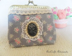 Carteira Romantique Vintage VIIII (AnnCrafts Artesanato) Tags: vintage tilda carteiras vintagepurse