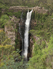 Carrington Falls (Idiot4Hire) Tags: water beautiful landscape waterfall highlands bush rocks australia falls southern nsw robertson carrington