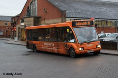 Arriva Midlands Hinckley Bus 2564 X731FPO (Andy4014) Tags: bus solo sainsburys hinckley optare arrivamidlands x731fpo