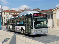 Mercedes Citaro II - STAN 290 (Pi Eye) Tags: bus mercedes stan nancy autobus cng e4 facelift gnv erdgas citaro o530 cugn grandnancy cgfte