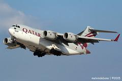 Qatar Air Force Boeing C-17A Globemaster III 'A7-MAB' LMML (Melvin Debono) Tags: