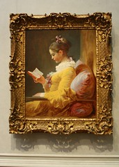 Young Girl Reading, ca.1770 (ktmqi) Tags: girl book read 18thcentury rocco nationalgalleryofart frenchart younggirlreading jeanhonorfragonard