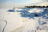 Beach Living (Andy Marfia) Tags: winter snow chicago ice landscape pier iso200 frozen lakemichigan edgewater lakefront f9 11600sec d7100 1685mm