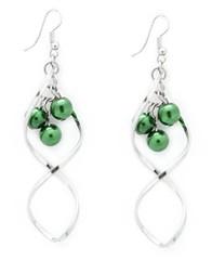 Glimpse of Malibu Green Earrings P5810A-2