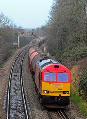 60040. (curly42) Tags: transport railway tug dbs murco class60 60040 locohauled 6b13 southfieldroadbridge