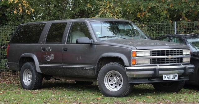 chevrolet suburban 1992 petrol 1500 5700cc
