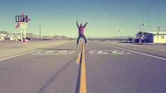 Born to be wild! (Laila G.P) Tags: california usa dinner carretera 66 route mojave icono roys amboy eeuu ruta66