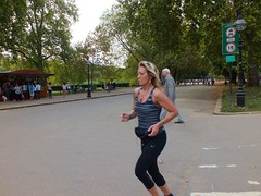 London Runners (Waterford_Man) Tags: park people london girl running run hydepark jogging runner jog jogger