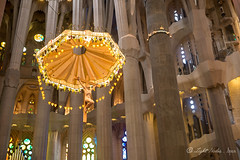 La Sagrada Família (Gaudi designed Church), Barcelona with GX7
