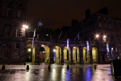 City Chambers, Edinburgh (Colin Myers Photography) Tags: christmas street old city colin night dark photography lights scotland town high edinburgh moody royal scottish nightlight royalmile cobbles highstreet chambers atmospheric mile myers 2014 edinburghnight royalmileedinburgh highstreetedinburgh colinmyersphotography