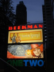 Alice Through the Looking Glass Beekman Marquee 9270 (Brechtbug) Tags: new york city nyc streets film glass cat movie poster marquee tim nice theater looking cheshire theatre alice lewis guys disney billboard lobby 2nd johnny billboards carroll through mad too depp avenue wonderland between hatter burtons marquees 66th in 2016 beekman standee 67th 05282016