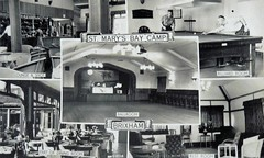 St Mary's Bay Holiday Camp, Brixham (trainsandstuff) Tags: vintage postcard pontins brixham holidaycamp stmarysbay