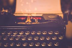 Happy Birthday!!!! (cristina.g216) Tags: brown typewriter keys bokeh letters letras teclas maquinadeescribir marrn