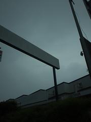 . (Elliott Fusy-Pudal) Tags: street sky france weather shop ruins bad supermarket thewayhome suburbian