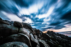 La Gran Caada, La Pedriza (elcrackdevk) Tags: madrid espaa canon paisaje tokina amanecer nubes nocturna montaa largaexposicin lapedriza 70d