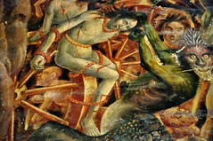HELL !!! (Martin PEREZ 68) Tags: painting cathedral hell catedral peinture fresco albi fresque enfer midipyrnes