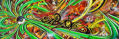 * tOxi cOcO * (-ABLOK-) Tags: street art jaune rouge graffiti sketch punk paint vert dessin peinture rasta bombe toile bordel sprays abstrait nimportequoi patate badtrip maiscestquoia