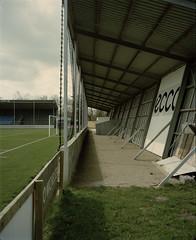 3 (Anders Hviid) Tags: film analog football soccer negative stadion fc fodbold plaubel makina tnder sydvest