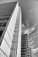 Toward the sky (kaffealskare) Tags: city sky clouds skyscrapers sweden stockholm himmel htorgsskraporna moln