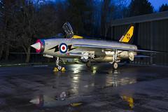BAC Lightning F3 - 24 (NickJ 1972) Tags: night photo shoot photoshoot aviation c ground nightshoot f3 lightning lpg proving bac 2016 englishelectric britishaircraftcorporation bruntingthorpe xr713