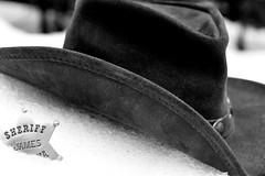 Day 157 of 366 (James_Seattle) Tags: wallpaper snow hat photo washington lyrics nikon song background pass badge d200 cowboyhat inspiring geffen snoqualmie vhs musicgroup snoqualmiepass oldwest folkrock caseyharris nikond200 interscope sheriffsbadge alexandergrant xambassadors noahfeldshuh march32015