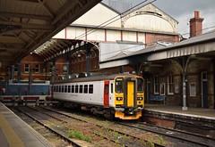 153306 Norwich 18/05/16 (MCW1987) Tags: class norwich greater anglia 153 dmu abellio 153306
