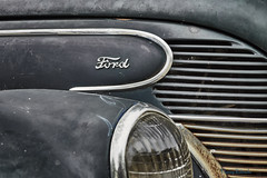Rusted out old ford (Danny Rotondo Photography) Tags: ford rust classiccar automobile headlight oceangrove classiccarshow automotivephotography automobileart dannyrotondo dannyrotondophotography