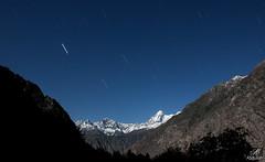 Martians! (aliabdullah.176) Tags: travel pakistan night trekking stars valley nightsky 1855mm startrails t3i haramosh gilgitbaltistan iskere