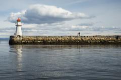 Brattrmoloen pier (Helena Normark) Tags: lighthouse norway pier norge trondheim srtrndelag a7 voigtlnder brattra voigtlanderultron35mmf17 ultron35mmf17 sonyalpha7 brattrmoloen