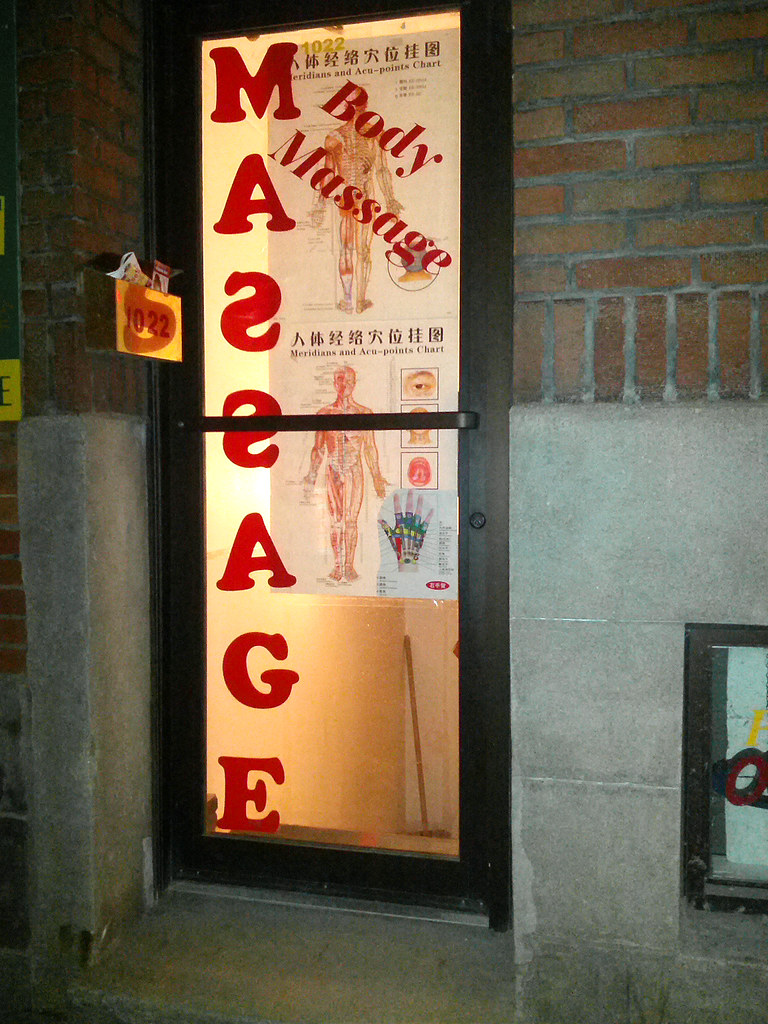 Asian massage montreal chinatown