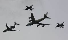 Riveting (crusader752) Tags: london aircraft jets formation r1 boeing tornado raf tonka sentinel bombardier ecm panavia royalairforce gr4 elint rivetjoint sigint rc135w zj690 snapshot01 qbfp za553 no51squadron speciallymarked no5acsquadron monster11 zz664 airseeker no31squadron goose61h monster13 thequeens90thbirthdayflypast za548040