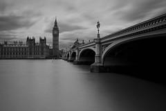 London (neals pics) Tags: my100xbw bw blackwhite monochrome blackandwhite mono england night longexposure urban architecture buildings london thames river water cloud bigben parliament bridge lamp 100xthe2016edition 100x2016 image47100